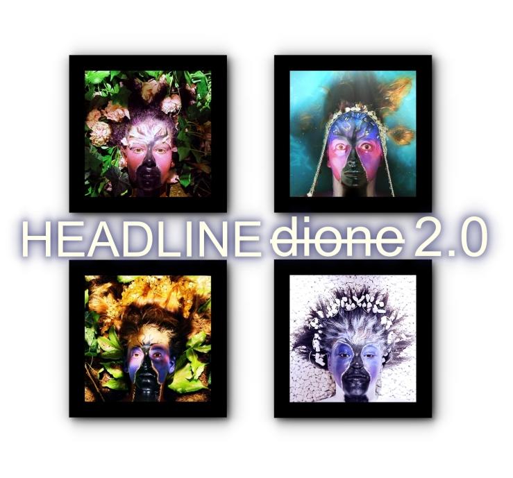 Headline dione 2.0 Poster Schrift
